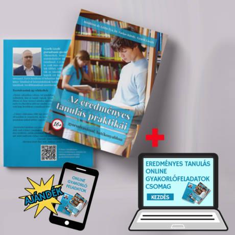 Az eredményes tanulás praktikái – könyv és Online gyakorlófeladatok csomag elérése – 20.000 Ft értékben